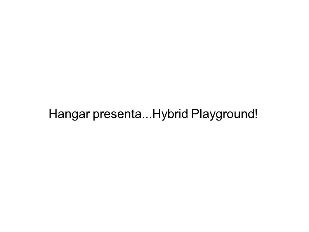 Hangar presenta...Hybrid Playground!