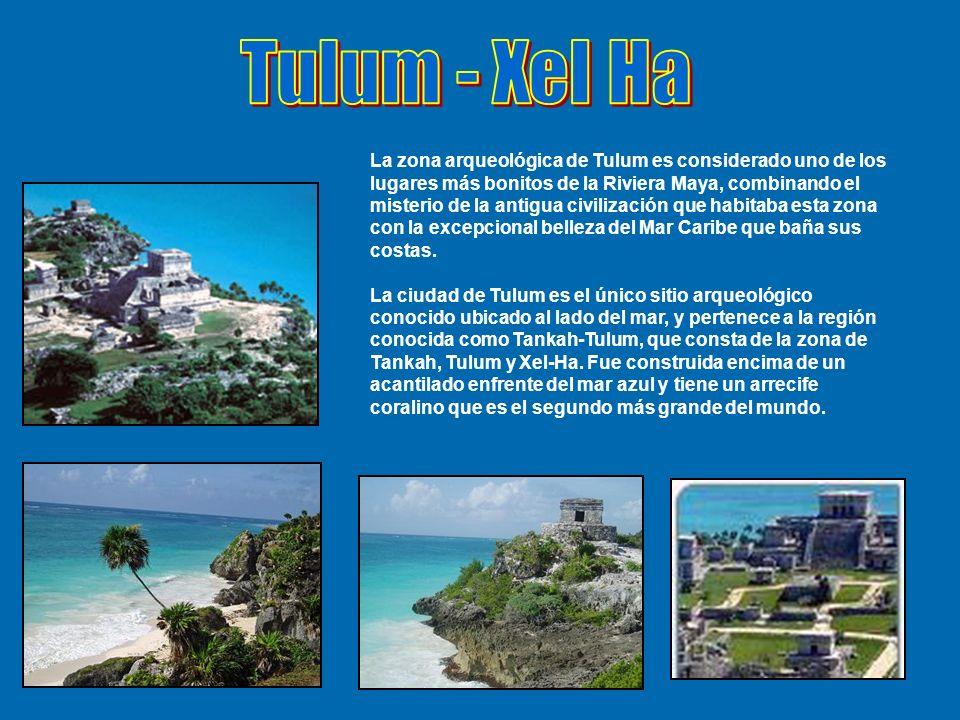 La zona arqueológica de Tulum es considerado uno de los lugares más bonitos de la Riviera Maya, combinando el misterio de la antigua civilización que