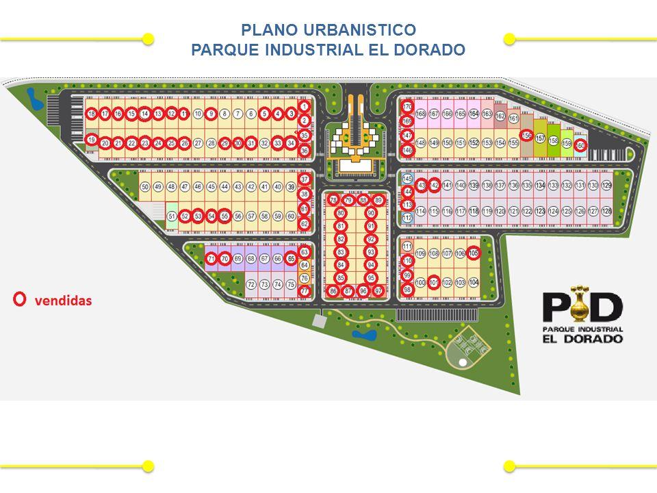 PLANO URBANISTICO PARQUE INDUSTRIAL EL DORADO