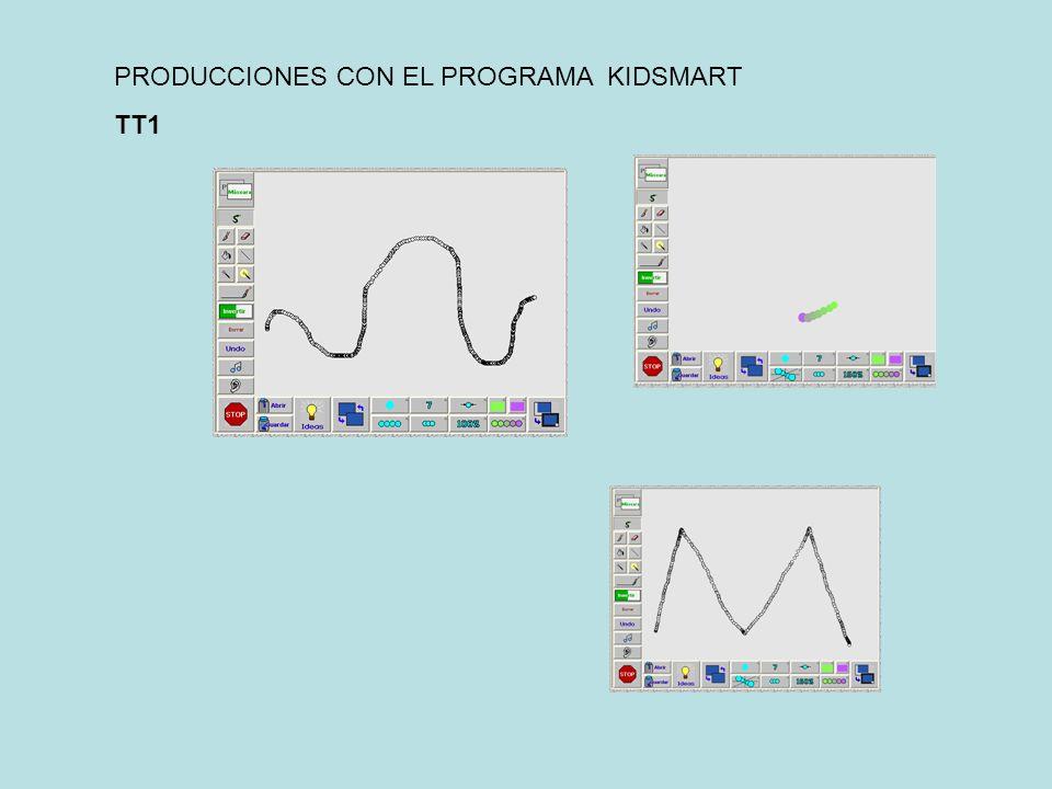 PRODUCCIONES CON EL PROGRAMA KIDSMART TT1