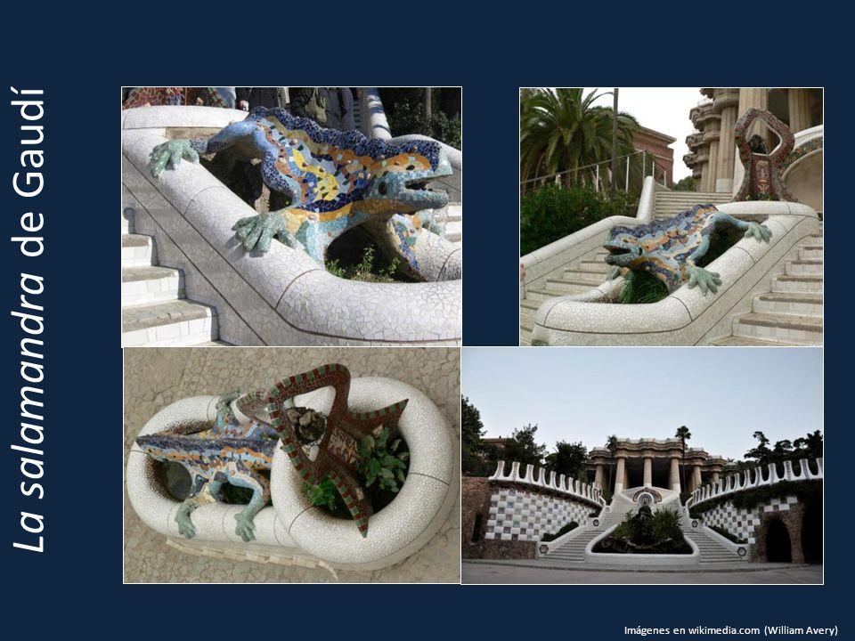 La salamandra de Gaudí Imágenes en wikimedia.com (William Avery)