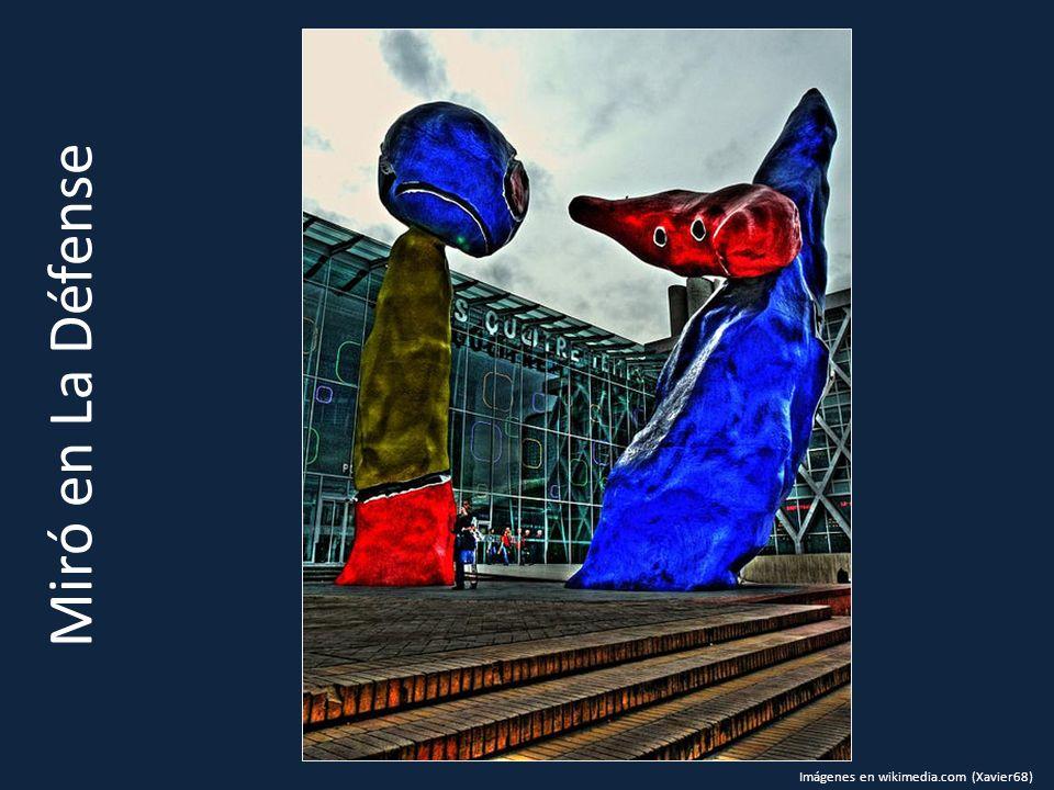 Miró en La Défense Imágenes en wikimedia.com (Xavier68)