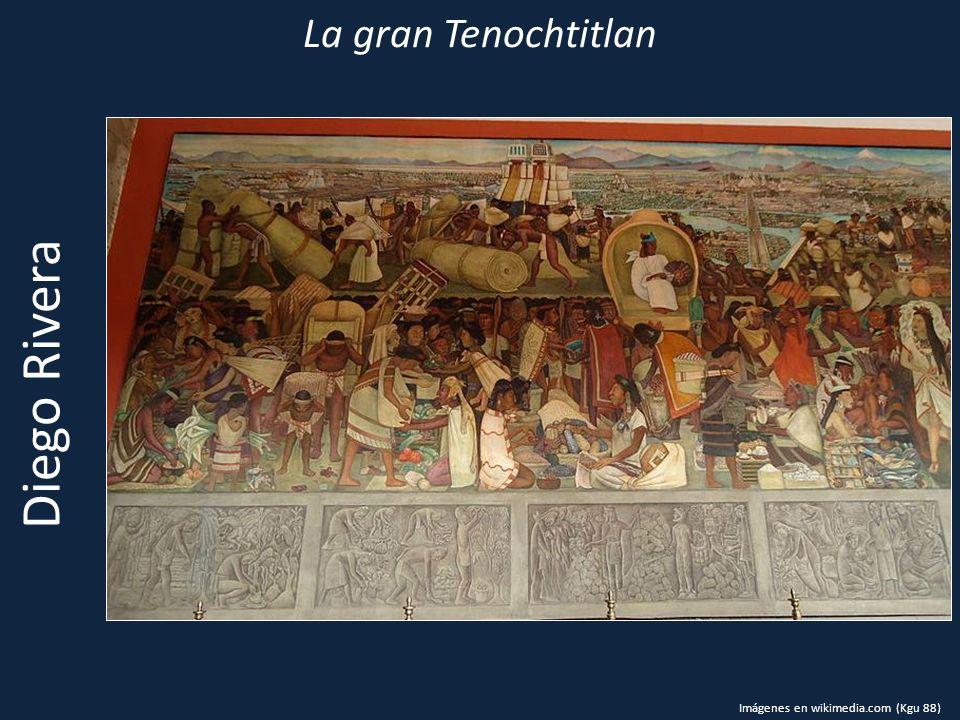La gran Tenochtitlan Diego Rivera Imágenes en wikimedia.com (Kgu 88)