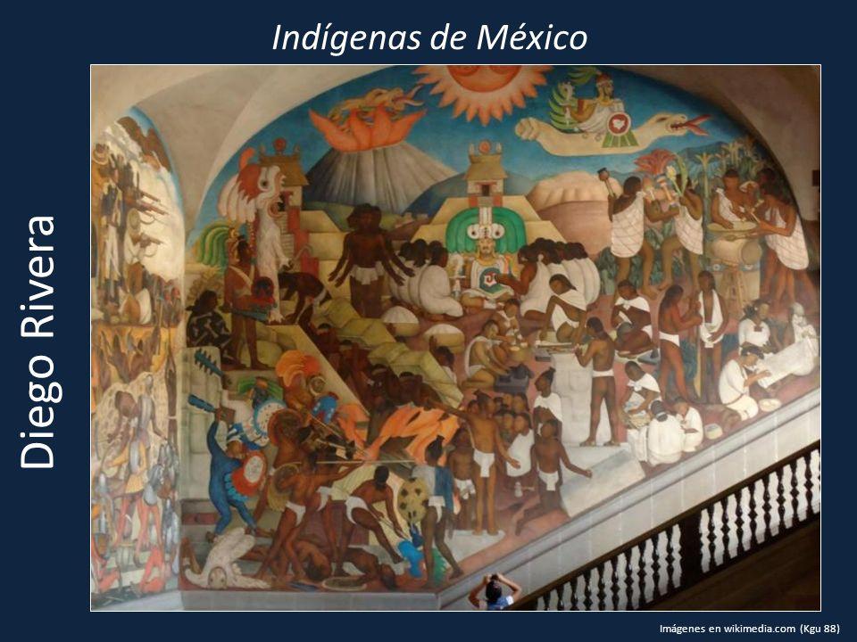 Indígenas de México Diego Rivera Imágenes en wikimedia.com (Kgu 88)