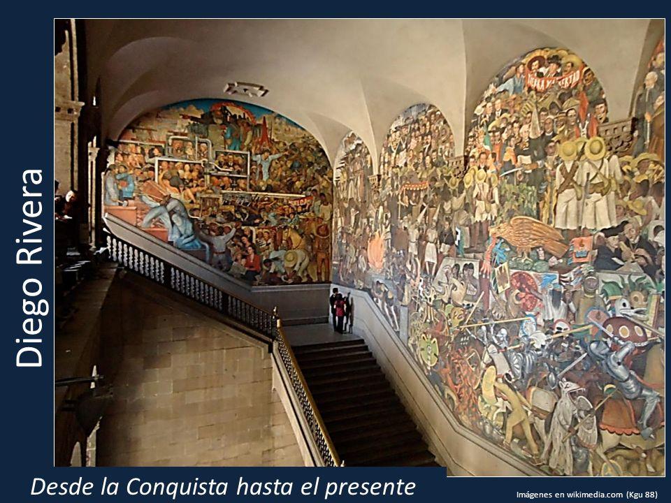 Desde la Conquista hasta el presente Diego Rivera Imágenes en wikimedia.com (Kgu 88)