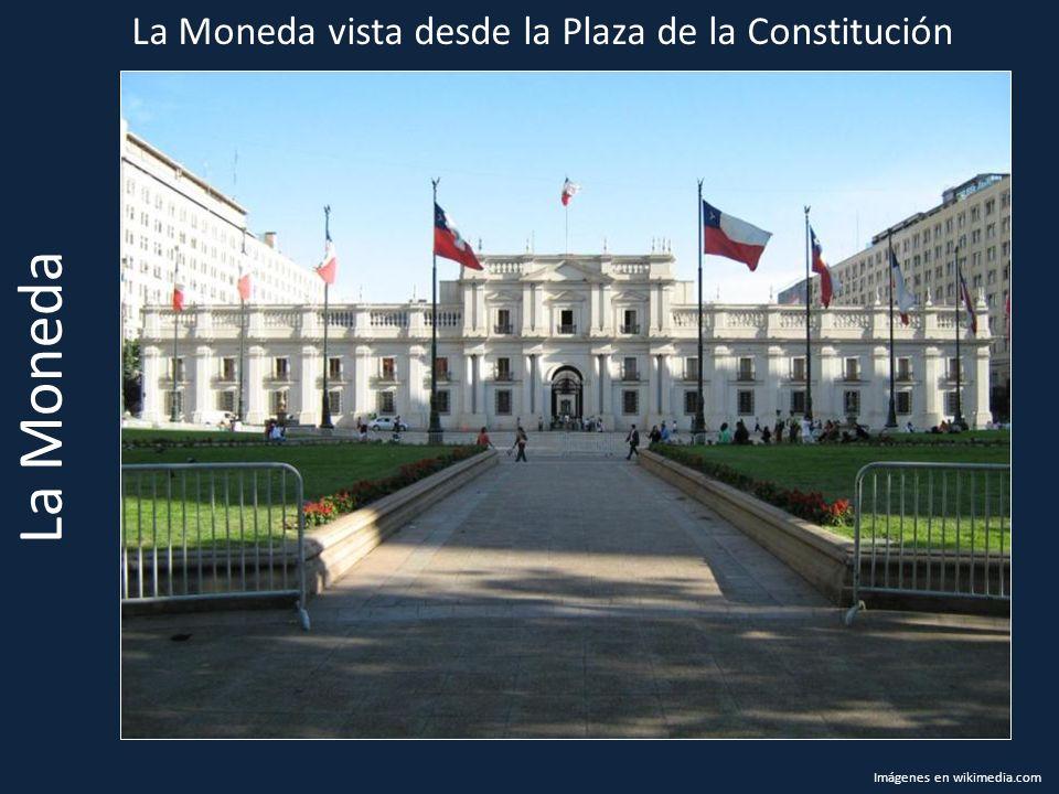 La Moneda La Moneda vista desde la Plaza de la Constitución Imágenes en wikimedia.com