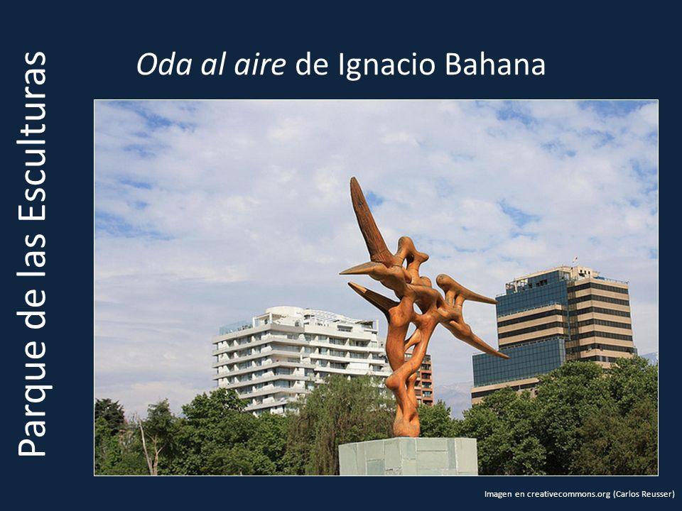 Oda al aire de Ignacio Bahana Parque de las Esculturas Imagen en creativecommons.org (Carlos Reusser)