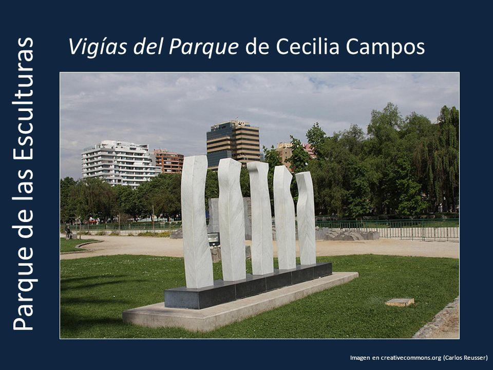 Vigías del Parque de Cecilia Campos Parque de las Esculturas Imagen en creativecommons.org (Carlos Reusser)