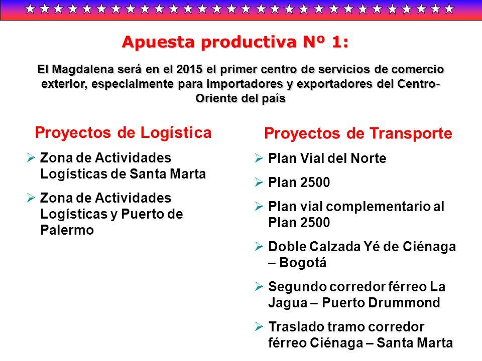El Magdalena será en el 2015 el primer centro de servicios de comercio exterior, especialmente para importadores y exportadores del Centro- Oriente de