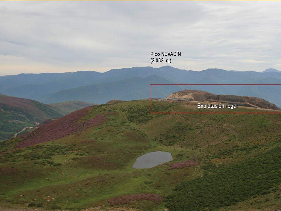 Pico NEVADÍN (2.082 m.) Explotación ilegal