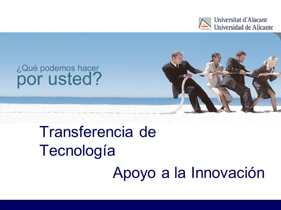 Transferencia de Tecnología Apoyo a la Innovación