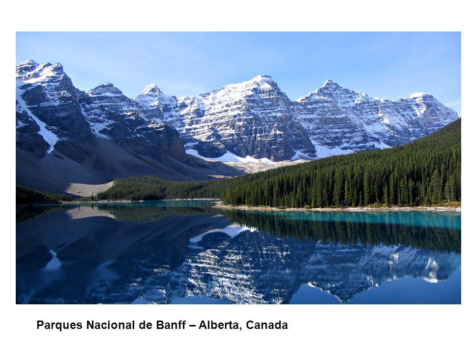 CONTENIDO DE LA PRESENTACIÓN Parques Nacional de Banff – Alberta, Canada