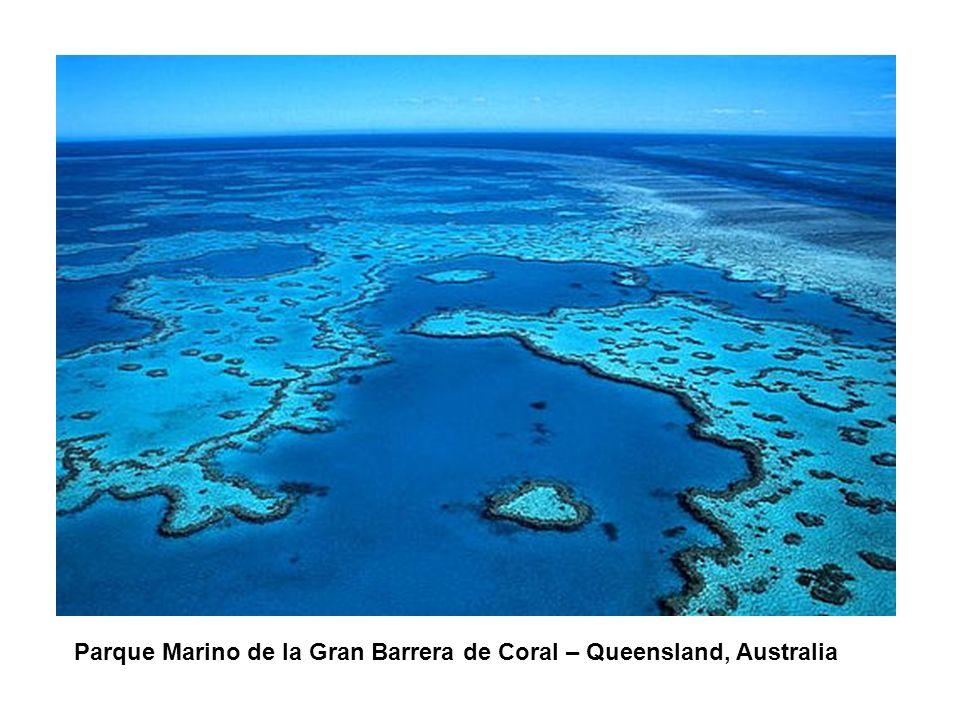 CONTENIDO DE LA PRESENTACIÓN Parque Marino de la Gran Barrera de Coral – Queensland, Australia