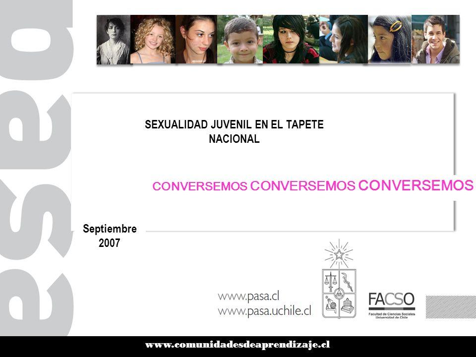 www.comunidadesdeaprendizaje.cl WENA NATY: ¿Misoginia en los medios? WENA NATY: ¿Misoginia en los medios? Septiembre 2007 CONVERSEMOS CONVERSEMOS CONV