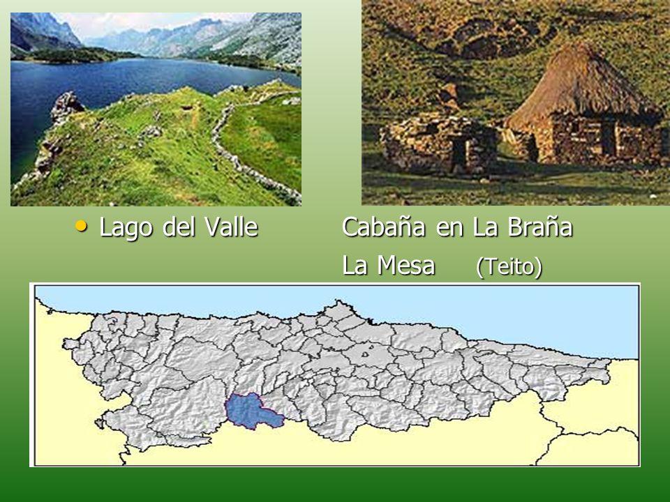 Lago del ValleCabaña en La Braña Lago del ValleCabaña en La Braña La Mesa (Teito)