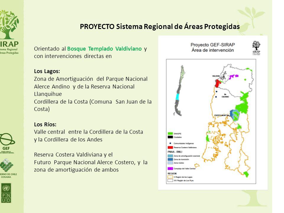 PROYECTO Sistema Regional de Áreas Protegidas Orientado al Bosque Templado Valdiviano y con intervenciones directas en Los Lagos: Zona de Amortiguació