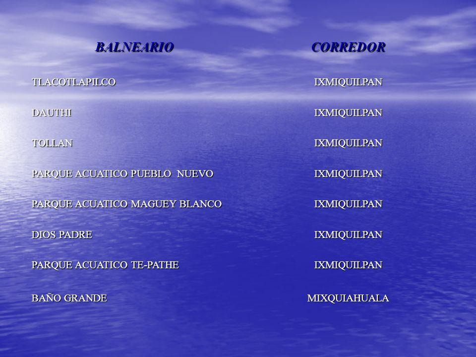 Balneario Baño Grande En Mixquiahuala:En el pago por la entrada a los Balnearios y Parques Acuáticos En