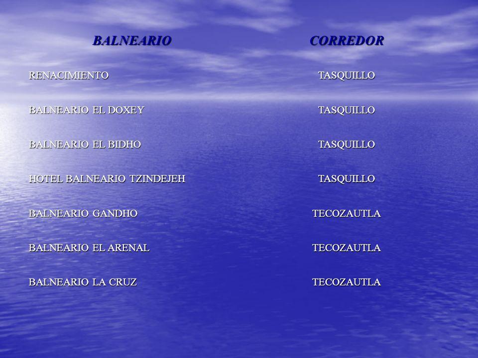 Balneario Baño Grande En Mixquiahuala:BALNEARIOCORREDOR BALNEARIO EL HUEMAC TEZONTEPEC DE ALDAMA BALNEARIO
