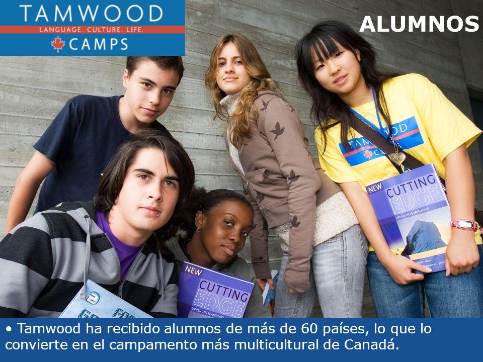 Tamwood ha recibido alumnos de más de 60 países, lo que lo convierte en el campamento más multicultural de Canadá.