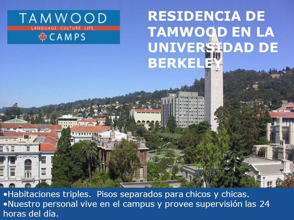 RESIDENCIA DE TAMWOOD EN LA UNIVERSIDAD DE BERKELEY Habitaciones triples.