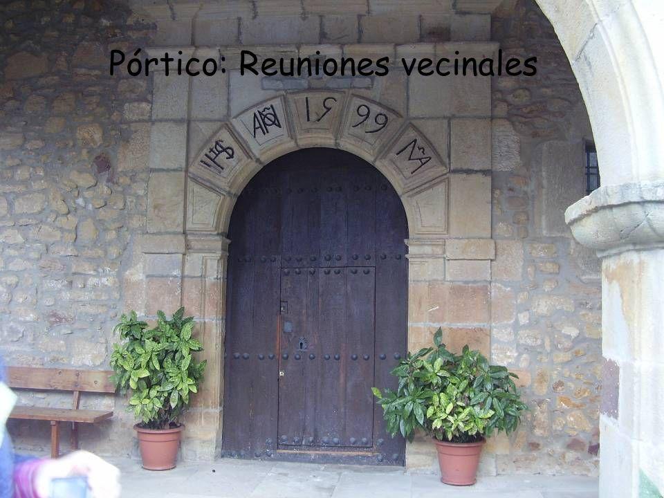 Pórtico: Reuniones vecinales