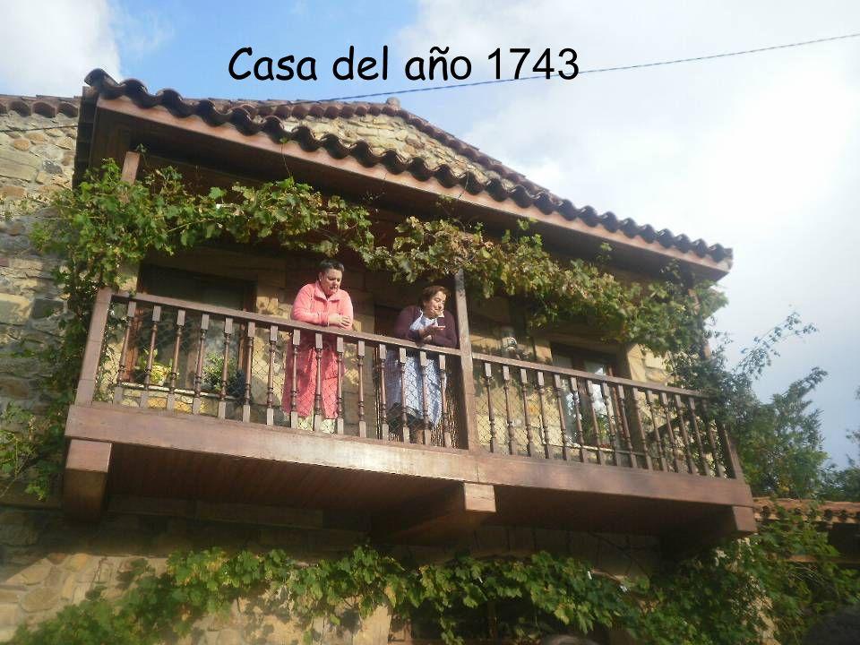 Casa del añ o 1743