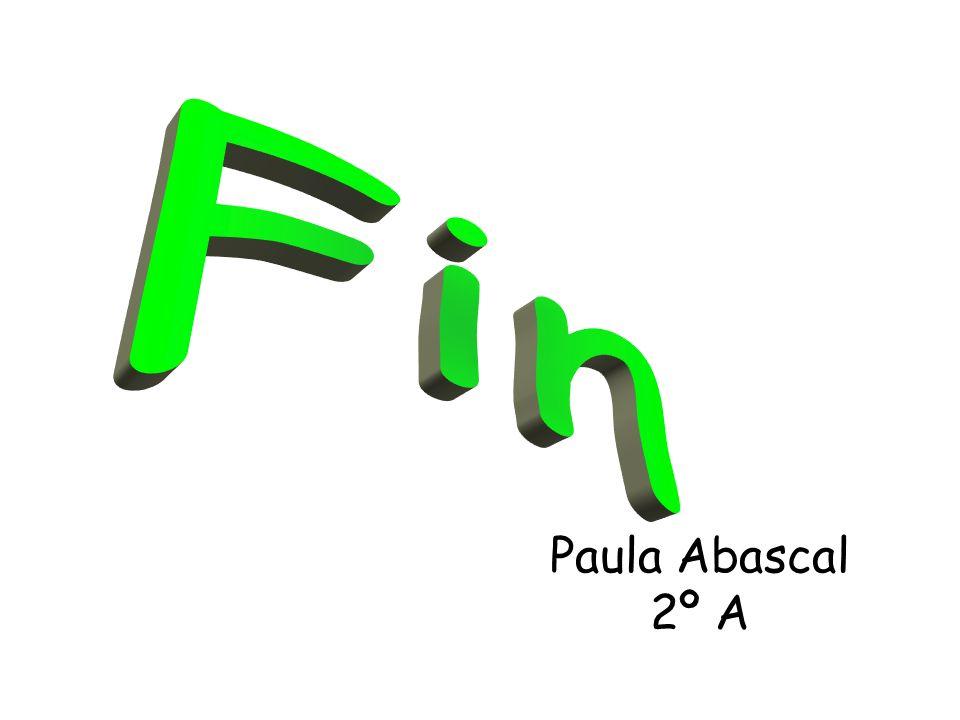 Paula Abascal 2º A