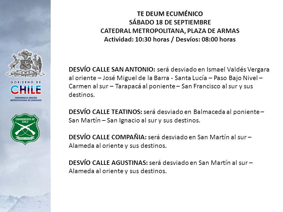 J.M.DE LA BARRA DE NORTE A SUR: será desviada en Bellavista al poniente y sus destinos.