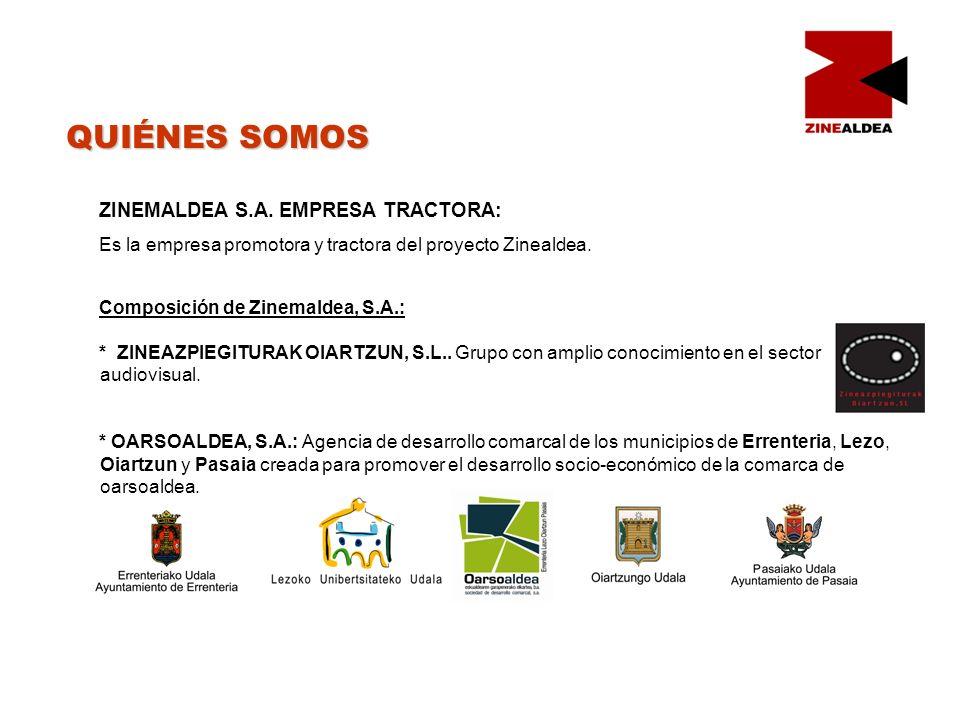 QUIÉNES SOMOS ZINEMALDEA S.A.