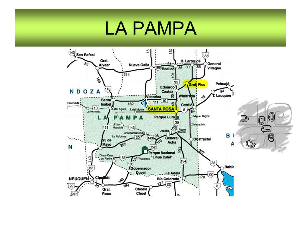 Que La Pampa nació rural no caben dudas.
