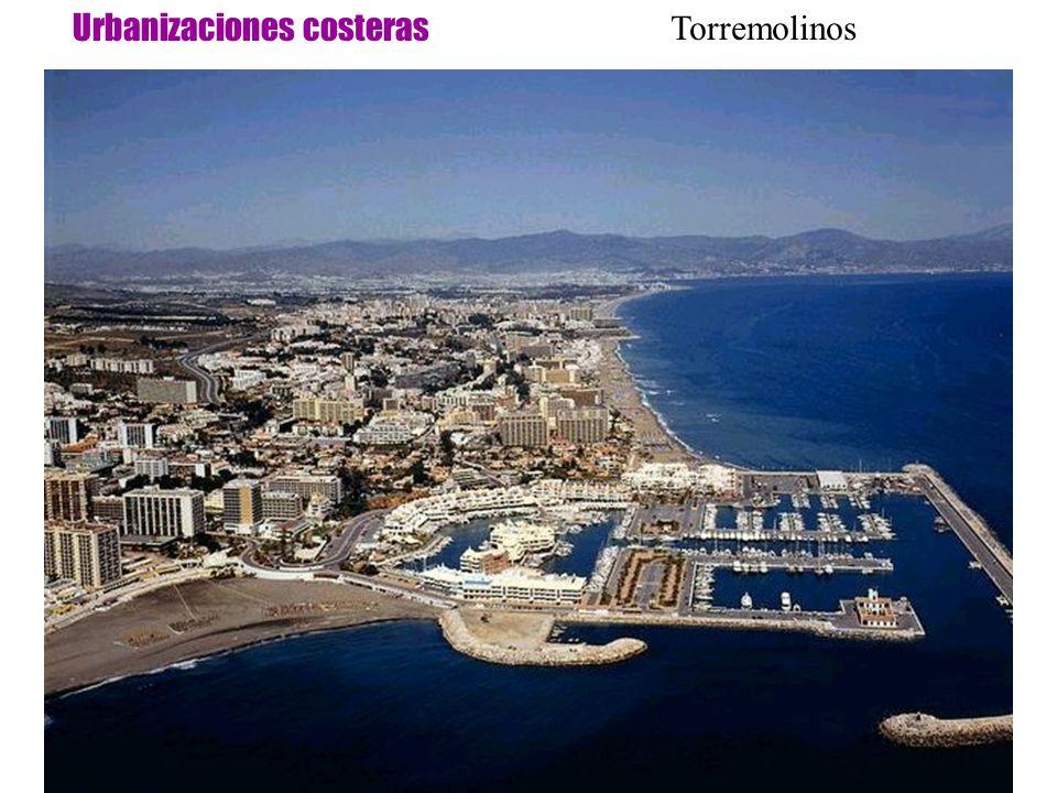 Urbanizaciones costeras Torremolinos