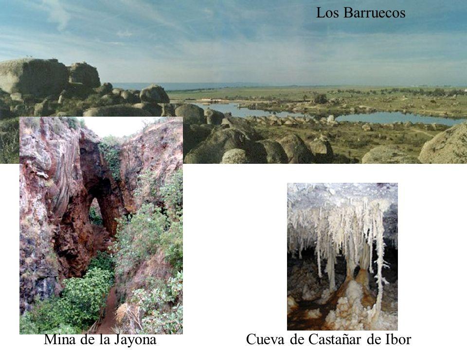 Los Barruecos Mina de la JayonaCueva de Castañar de Ibor