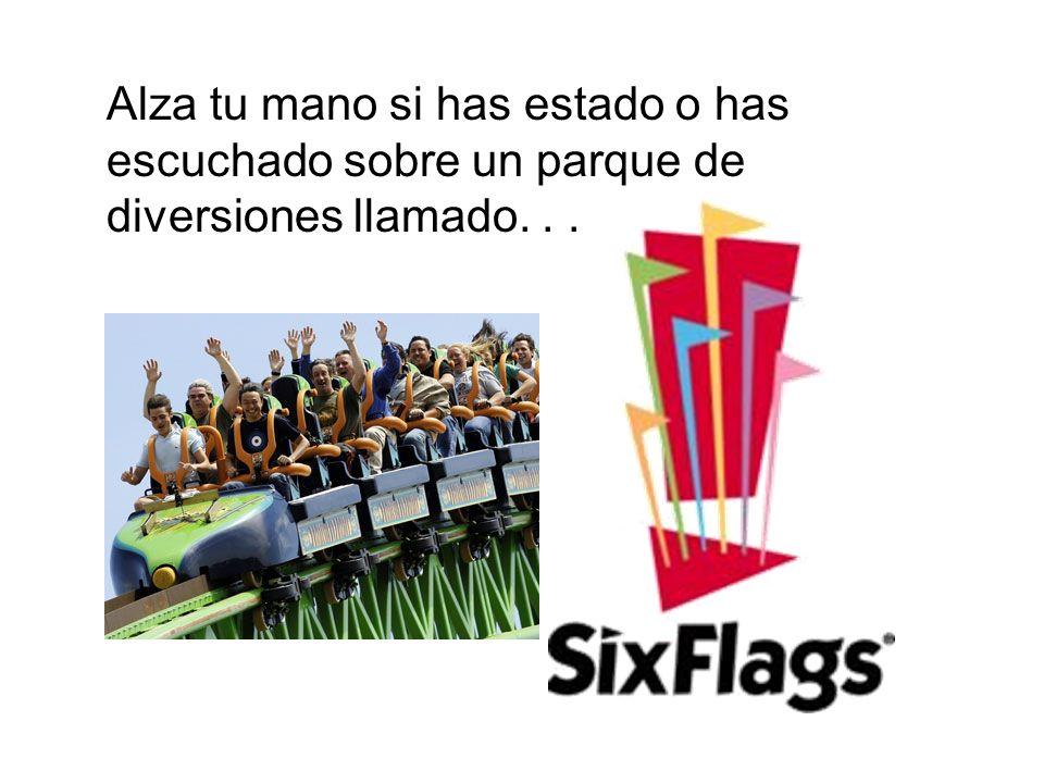El parque de diversiones le rinde homenaje a las seis banderas verdaderas que han ondeado sobre Texas.