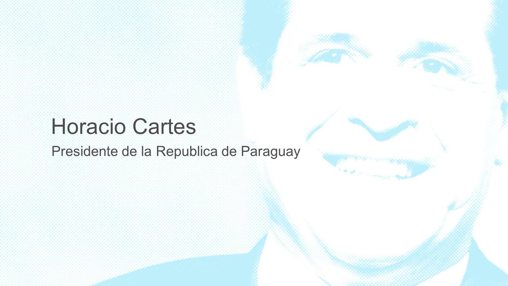 Presidente de la Republica de Paraguay Horacio Cartes