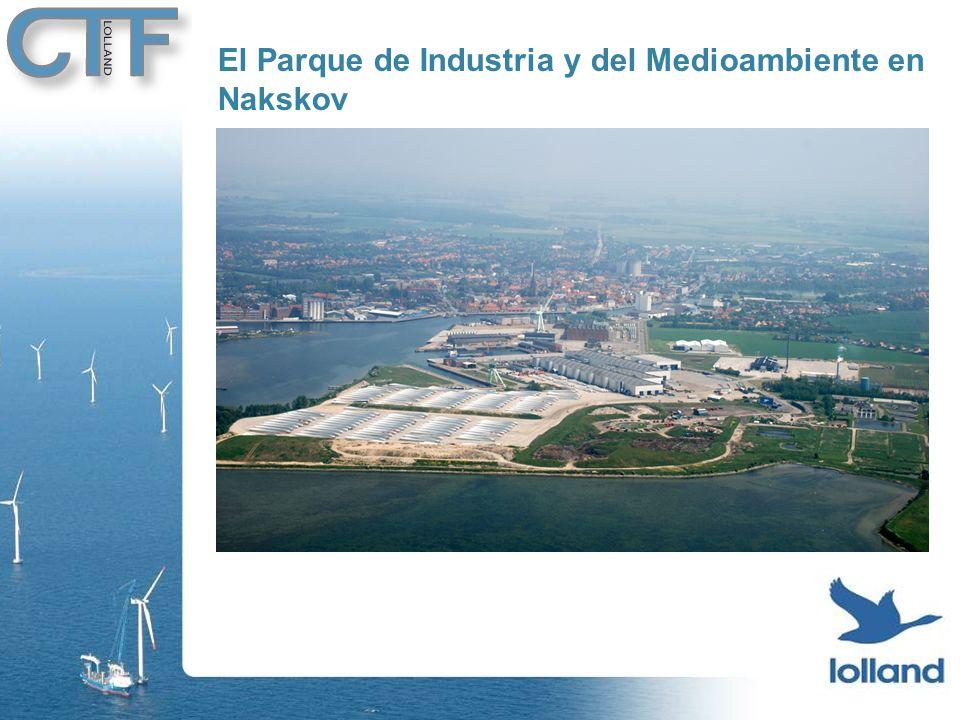 El Parque de Industria y del Medioambiente en Nakskov