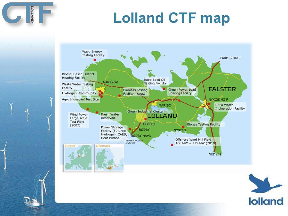 Lolland CTF map