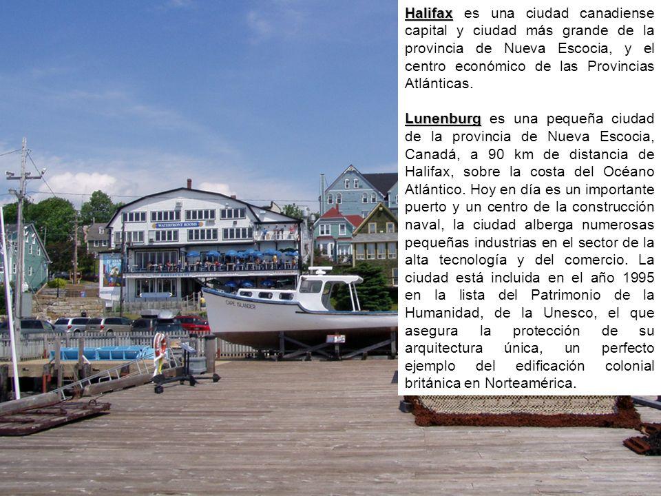 Halifax Halifax es una ciudad canadiense capital y ciudad más grande de la provincia de Nueva Escocia, y el centro económico de las Provincias Atlánticas.