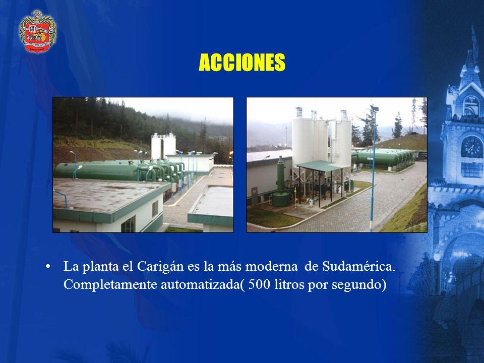 1. SERVICIOS DE SANEAMIENTO URBANO BÁSICO ACCIONES Construcción del Plan Maestro de Agua Potable. Implementación del Plan Emergente de Agua Potable. R