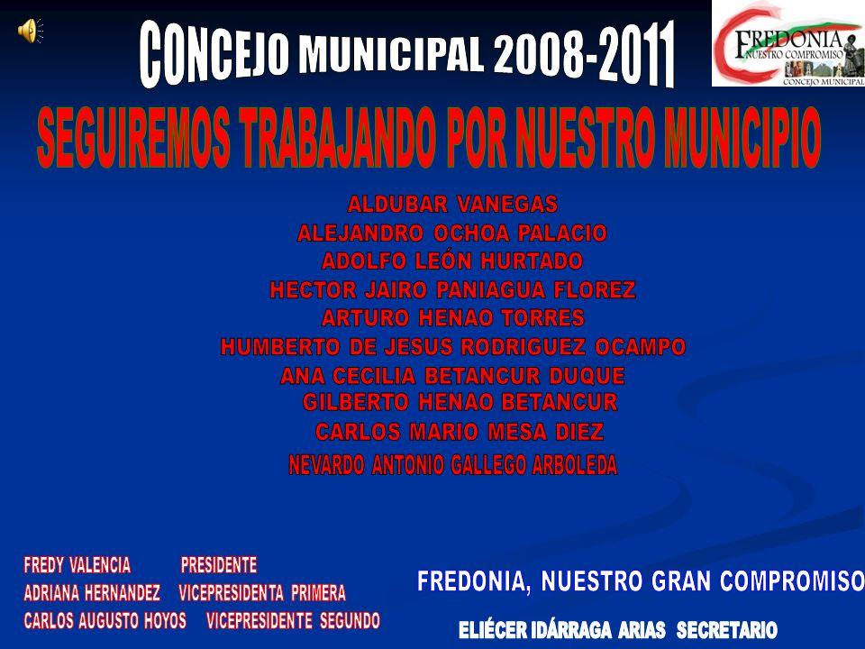 OTRAS PARTICIPACIONES *El Compos. *Sesión descentralizada informal en la vereda de Puente Iglesias. *Continuidad de la oficina de Rentas Departamental