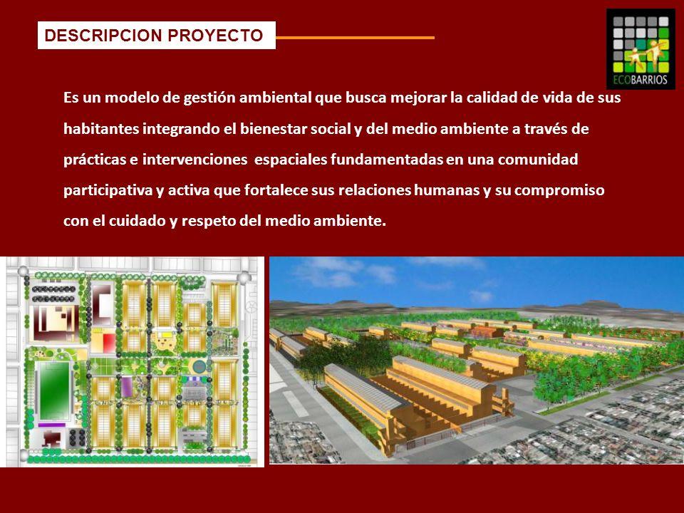 Es un modelo de gestión ambiental que busca mejorar la calidad de vida de sus habitantes integrando el bienestar social y del medio ambiente a través