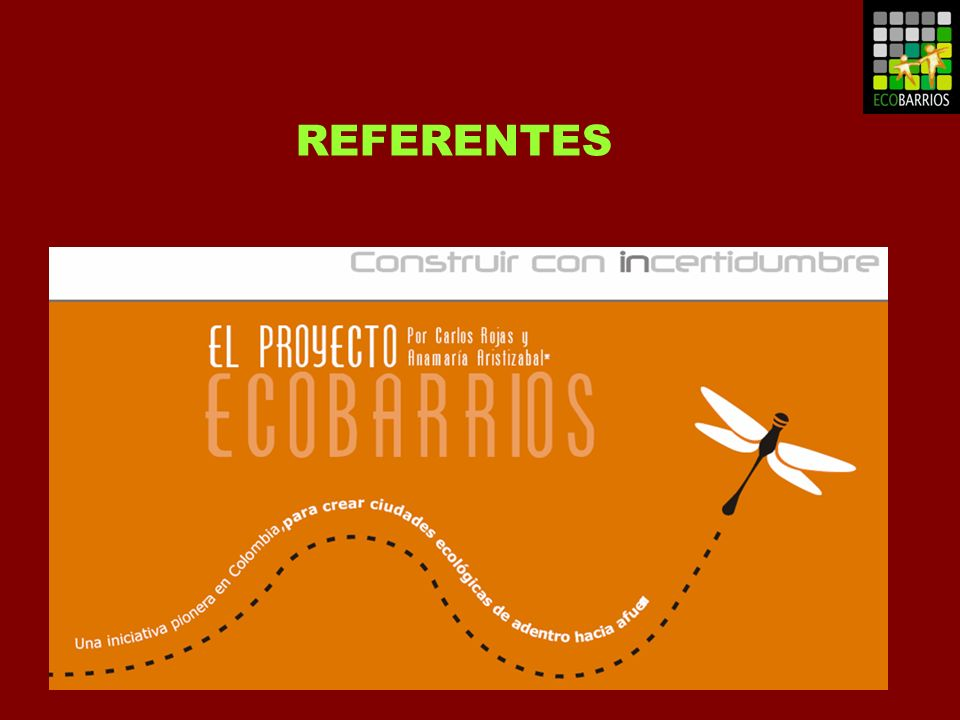 REFERENTES ECOBARRIOS COLOMBIA