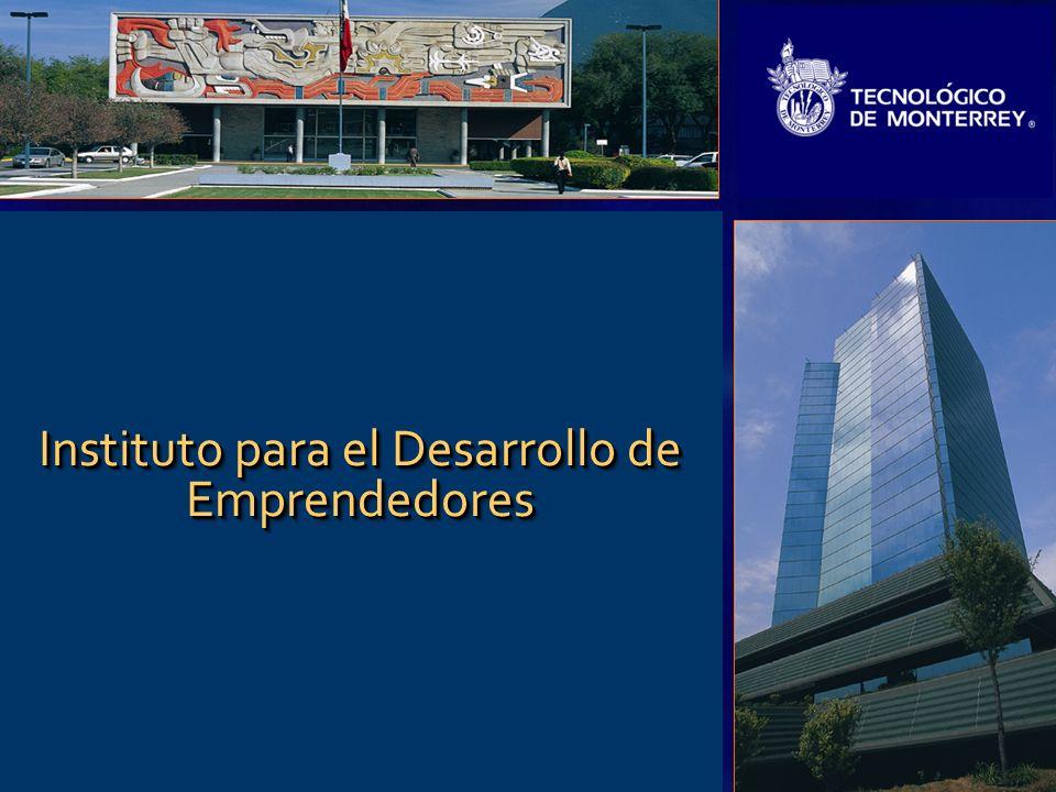 1 Instituto para el Desarrollo de Emprendedores