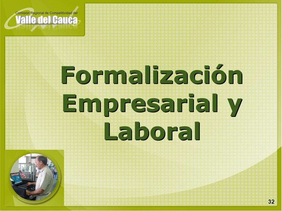 32 Formalización Empresarial y Laboral