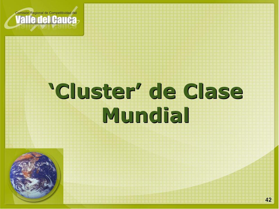 42 Cluster de Clase Mundial