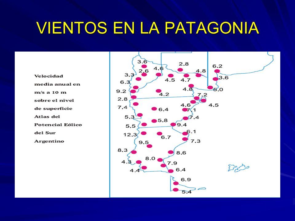 VIENTOS EN LA PATAGONIA