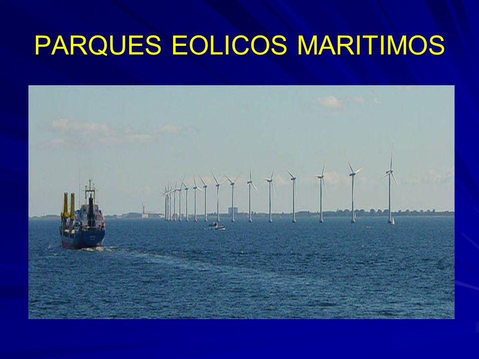 PARQUES EOLICOS MARITIMOS