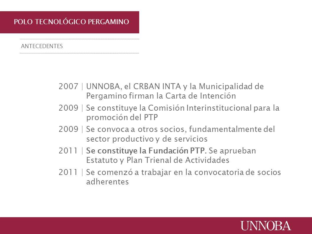 POLO TECNOLÓGICO PERGAMINO 2007 | UNNOBA, el CRBAN INTA y la Municipalidad de Pergamino firman la Carta de Intención 2009 | Se constituye la Comisión