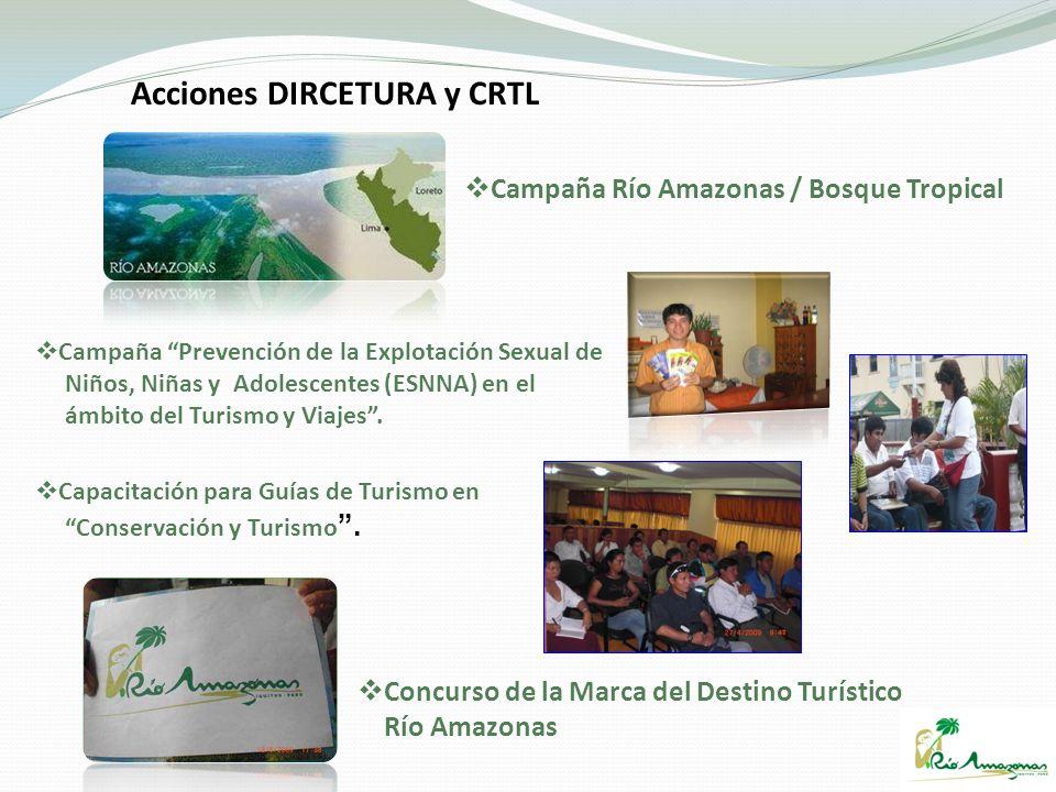 Acciones DIRCETURA y CRTL Campaña Prevención de la Explotación Sexual de Niños, Niñas y Adolescentes (ESNNA) en el ámbito del Turismo y Viajes. Capaci