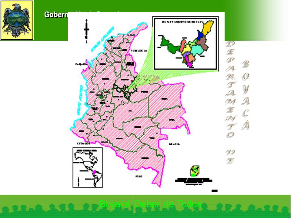Gobernación de Boyacá Boyacá Deber de Todos
