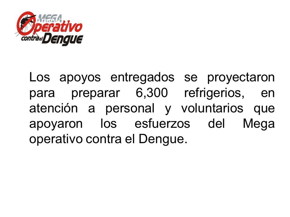 Comité Interinstitucional de Lucha contra del Dengue Conferencia de Prensa, 13 de mayo de 2013 Apoyos canalizados por la Dirección de Fomento Económic